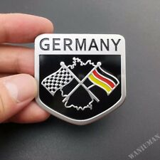 Metal Germany Flag Emblem Car Badge Decal Sticker For BMW Audi VW Mercedes Benz