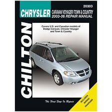 Chilton Repair Manual 20303 Dodge Caravan Voyager & Town & Country, 2003-07