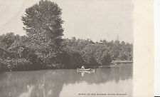 CK35. Postcard.Souvenir Mailing Card. Scene on th Humber River, Toronto.