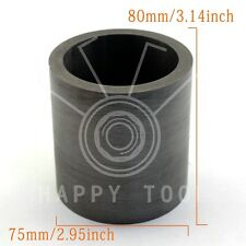 120oz Gold High Purity Graphite Crucible Cup Furnace Torch Melting Silver Copper