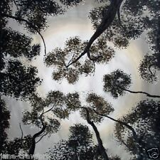 ABORIGINAL ART PAINTING  commission  80CM X 80CM TREES OF HEAVEN jane crawford