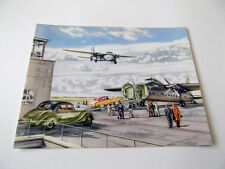 Postcard (BC21) - Silver City B170 Freighters at the airport