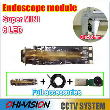 Super Mini 5.8mm USB Endoscope Module for DIY Tube Snake Inspection Camera