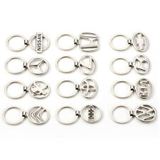 NEW hot Peugeot Car keychain KeyRing STAINLESS CAR LOGO FOB  KEY RING KEY CHAIN