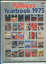 New York Yankees Yearbook  1975  25th Annual Yearbook    MBX21
