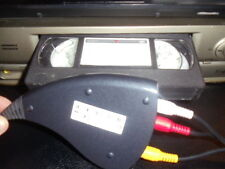 VCR VHS Video Cassette Tape Home Movie CONVERTER To Digital Computer DVD BETA