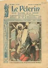 WWI Ruines Jésus sur la Croix Soldats Poilus Verdun France 1915 ILLUSTRATION