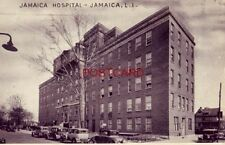 1936 JAMAICA HOSPITAL - LONG ISLAND, N. Y. vintage autos