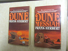 Dune & Dune Messiah Frank Herbert Ace 1987 paperbacks Excellent Unread Condition