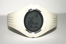 NWT Adidas Women's Watch Performance FURANO WHITE Resin Digital ADP6015 $95