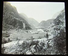 Glass Magic lantern slide UNKNOWN LOCATION 19 NORWAY - FARM