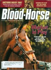 2007 The Blood-Horse Magazine #52: Playful Act Sells at Market/Commercial Sires