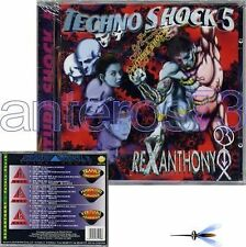 "REXANTHONY ""TECHNO SHOCK 5"" RARO CD S.O.B. - SEALED"