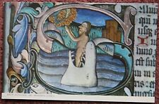 2x Ranworth Church Postcard Norfolk Broads Rood Screen Jonah Whale Man Shark