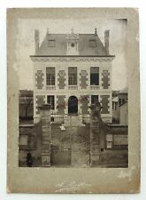 GRANDE PHOTO BESSON à ORLEANS ARCHITECTURE CONSTRUCTION MAIRIE 1902 MAISON O462