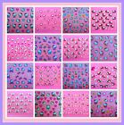 NEW SPARKLY HELLO KITTY 3D NAIL/DECAL/STICKERS~30 DESIGNS NEW CARTOON DESIGNS