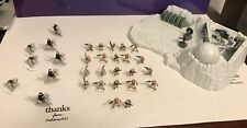 Micro Machines Star Wars Lot Of 30 Rebel Hoth Soldiers And  Han Solos