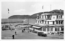 B95118 hotell hotel kullaberg car ship voiture bateaux  real photo molle sweden