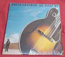 DAVID GRISMAN  QUINTET ORIG LP US   ' 80