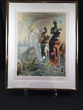 Original Dali Hallucinogenic Torreado Low Number 1965 Series original Signature