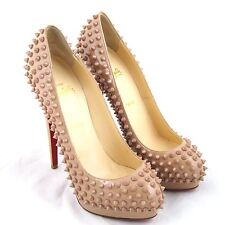 K-CL29322 New Christian Louboutin Lady 160 Platform Alti Nude Pumps Size 40 10