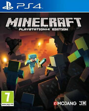 MINECRAFT PlayStation 4 Edition (Sony PlayStation 4, 2014) PS4