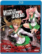 High School of the Dead : Complete (Blu-ray) Anime Lot Bi-lingual New