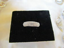HSN Pave Absolute dome ring, size 8