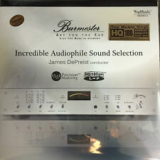 Burmester Incredible Audiophile Sound Selection LP Vinyl 180g Limited No. Edit