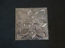 10  2 x 2 Tin Plated Steel Sheets. Victorian Design Tin Ceilings 24-16 WoW!
