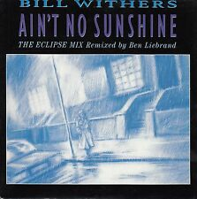 BILL WITHERS Ain't No Sunshine PICTURE SLEEVE record + juke box title strip NEW
