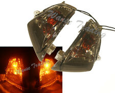 Rear Turn Signals Light Bulb Smoke Lens Fit 2006-2007 SUZUKI GSXR 600 750 K6 K7