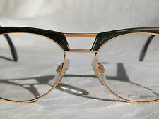 Cazal Vintage Eyeglasses - NOS - Model 741 - Col. 97/ 066 - Gold & Marble Green