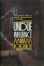 Undue Influence by Miriam Borgenicht-1st Ed./DJ-1989-Publisher Review Copy