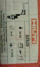 Hilti tige filetée hanger crochets. m10 rod, convient 8 à 14mm. boîte de 19. #52829