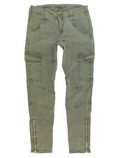 $231 J Brand 1229 Houlihan Zip Cargo Pants in Vintage West Point Size 25