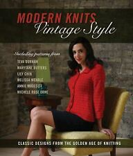 Modern Knits Vintage Style Edited by Kari Cornell Knitting Crafts
