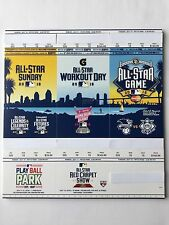 2016 MLB ALL STAR GAME TICKET STRIP - STUB ONLY NO EVENT ADMISSION
