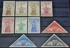 Spain Columbus Ships Scott #418//428 Lot of 10 Stamps 1930 Collection Mint MH