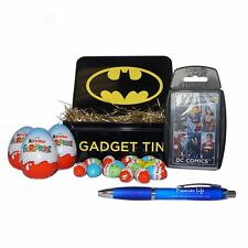 DC Comics Easter Gift Top trumps, Tin, Kinder Surprise, Mini Eggs & FREE Pen