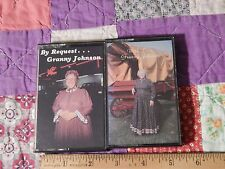 By Request... + With Love Granny Johnson (CASSETTE) LOT of 2 MADISON, Tenn. HTF
