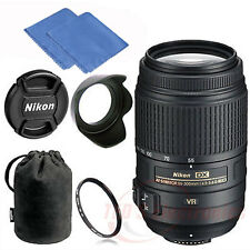 Nikon 55-300mm f/4.5-5.6G ED VR AF-S DX Nikkor Zoom Lens for Nikon Digital SLR K