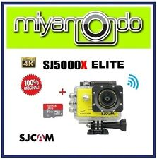 SJCAM Original SJ5000X WiFi Action Camera (Yellow) + Sandisk Ultra microSD 32GB