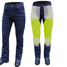 NEW WOMEN MOTORCYCLE Reinforced Dupont™KEVLAR® aramid fibres STRETCH JEANS 26