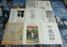 9 Wizard of Oz fanzines from the 1980s. Oz Collector, Baum Bugle, Oziana & More!
