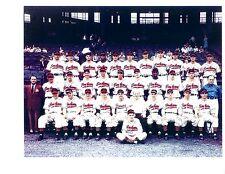 1948 CLEVELAND INDIANS TEAM 8x10 PHOTO WORLD CHAMPIONS OHIO  BASEBALL HOF