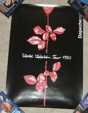 "17"" x 24"" Depeche Mode World Violation Tour SUBWAY POSTER 1990 Show Album RARE"