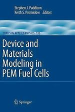 Device and Materials Modeling in PEM Fuel Cells (Astronomy and Astroph-ExLibrary
