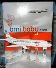 Schabak 1:600 Scale Diecast 925-122b bmi baby.com Airlines Boeing 737 New in Box