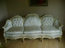 DEUTCH BROTHERS Custom made Hand Carved Living Room Suite